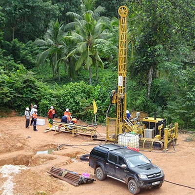 Exploration History 2018 – Margosa's New Drill Rig Arrives in Sri Lanka