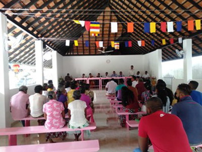Community meeting for Water Supply Scheme