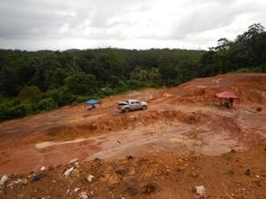 Vioew of Survey Site